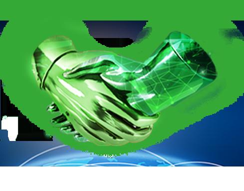 TGW: Providing reliability - Händedruck