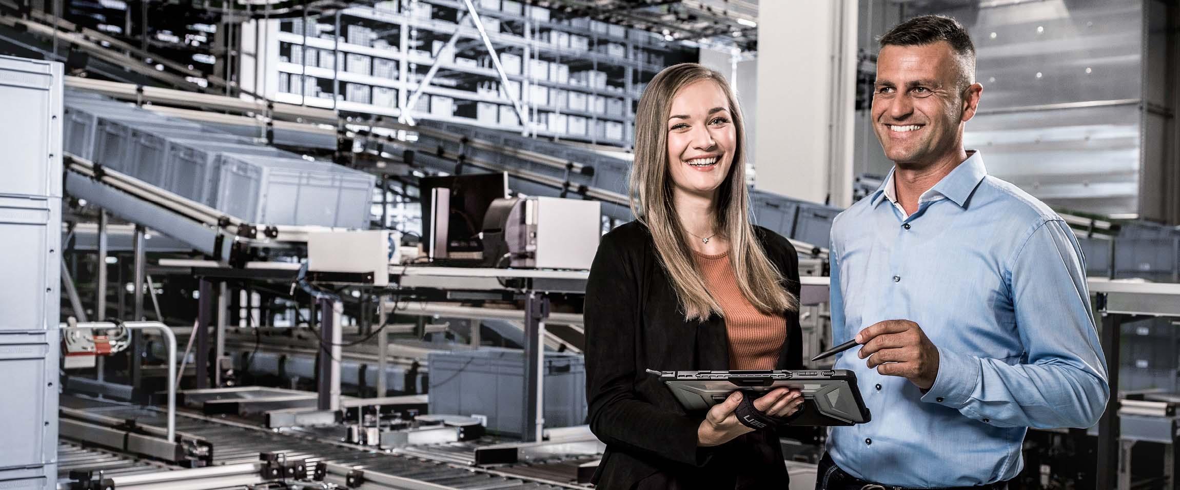 TGW Logistics Group als Arbeitgeber - Mitarbeiter in der Intralogistik