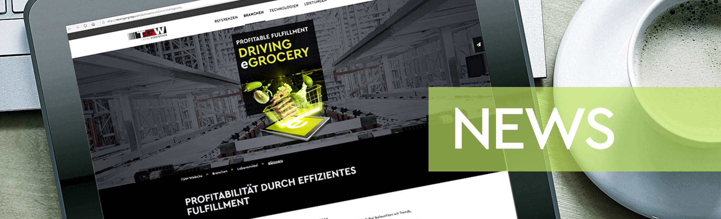 Latest eGrocery news and trends from the world of online grocery.