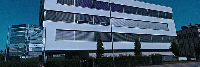 TGW Office Switzerland Kontakt
