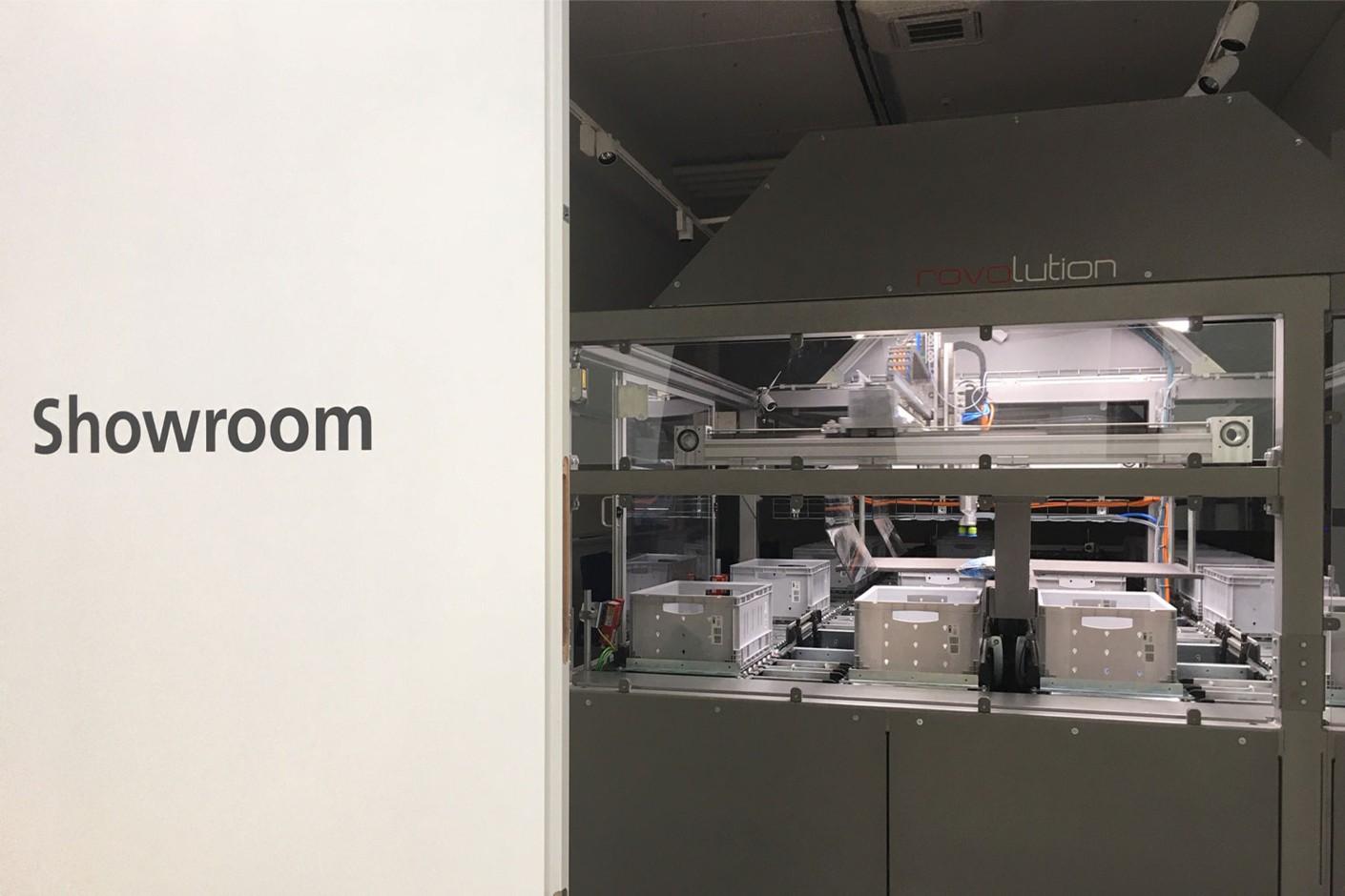TGW Robotics Showroom in Stephanskirchen.