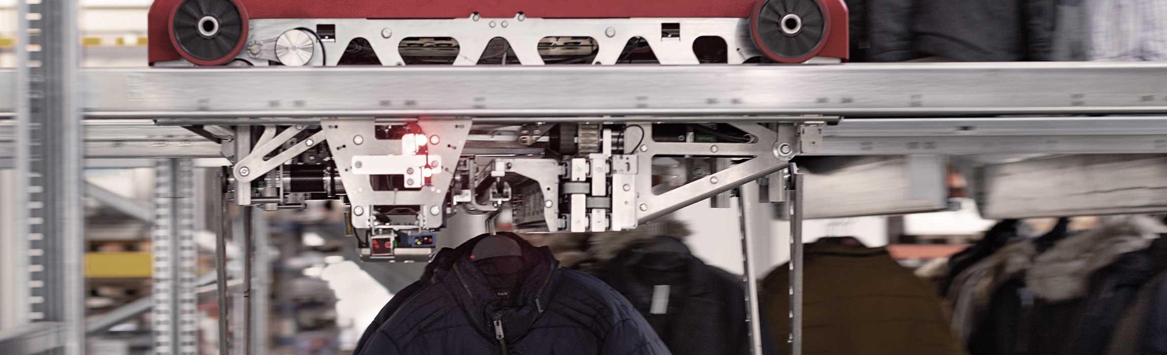 Eine bestmögliche Lagerhaltung Ihrer Produkte mit unseren automatischen Lagersystemen.