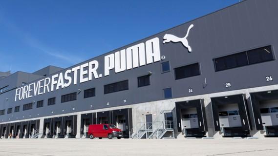 New logistics hub for Puma