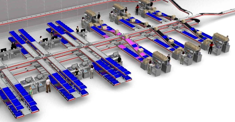 Highly automated intralogistics including complete SAP EWM implementation for the Heinrich Kipp Werk