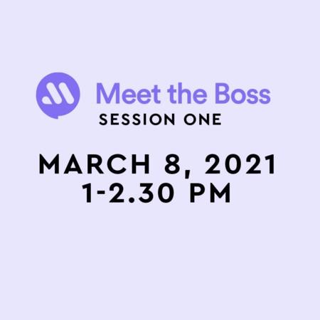 Meet the Boss - Register now!