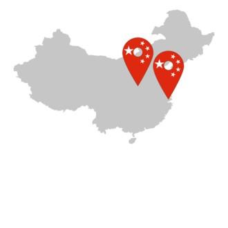 TGW Standorte China: Shanghai, Jiangsu