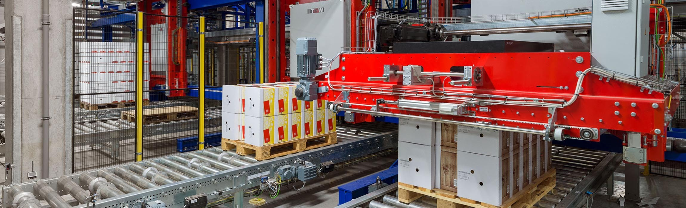 Thanks to this system, Heinrichsthaler was able to double its output to 100 pallets per hour.