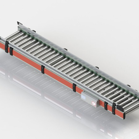 Our intelligent solutions - the Horizontal Roller Conveyor.