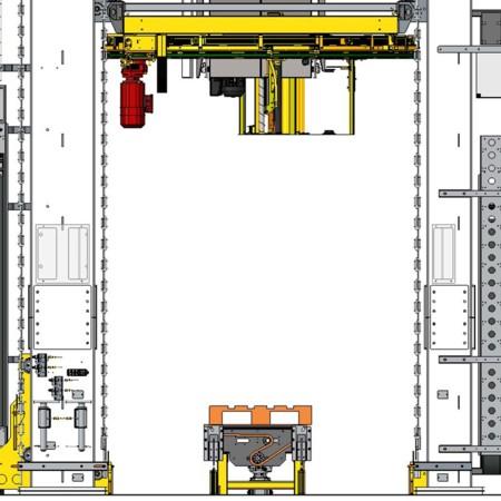 Autostax - Integrierter Folienwickler