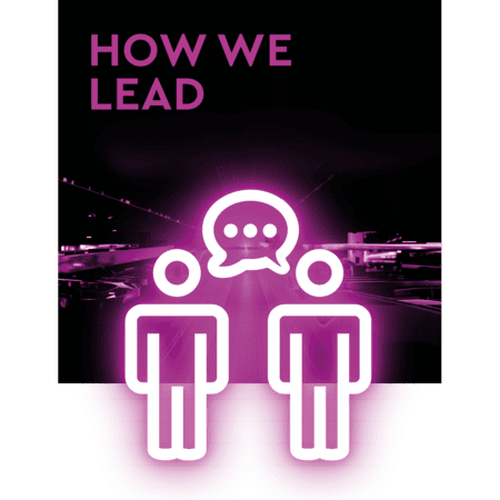 How we lead.