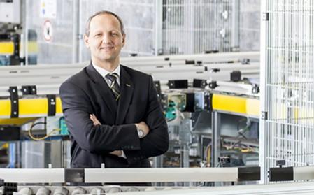 Roland Fahrmeier, Vizepräsident Logistics Management bei Kärcher.