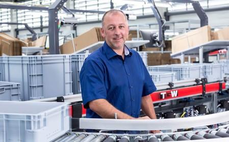 Thorsten Rollbühler, Organisation/Logistik bei Würth eiSos.