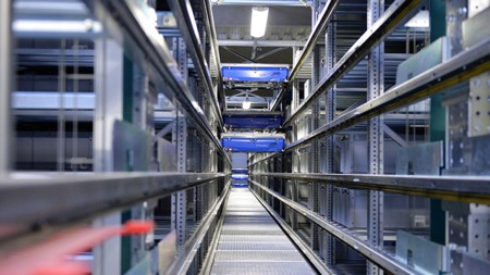 The new logistics centre is one solution.