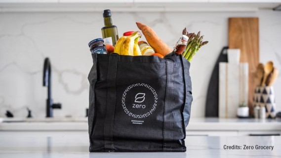 The American food delivery service Zero Grocery has committed itself to delivering groceries to its customers without the use of plastic.