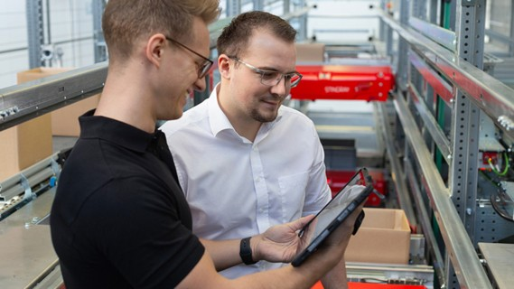 The trust of software competence ensures a smooth process within intralogistics.