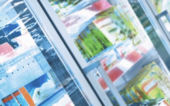 Einzelhandel-Distribution - Abdeckung aller Temperaturzonen für optimale Produktqualität der Waren.