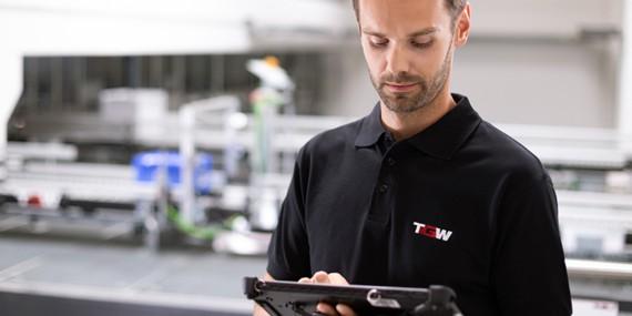 TGW Resident Engineers arbeiten Hand in Hand mit Ihren Mitarbeitern zusammen