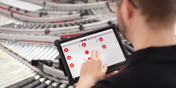 Das CMMS besticht durch die innovative Digitalisierung sämtlicher Abläufe der Instandhaltung