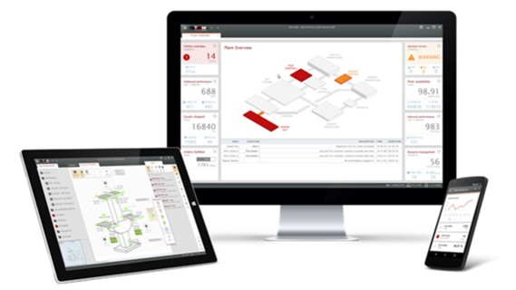 TGW Warehouse Software - Visualisierung