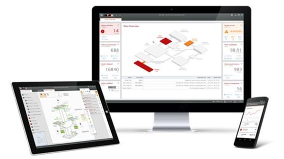 TGW Warehouse Software - Visualisierung