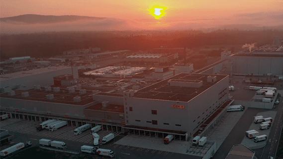 Ein leistungsfähiges Logistikzentrum bestehend aus vier großen Teilbereichen.