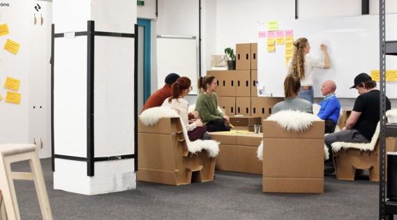 Die Nova Zone bietet einen kreativen Raum um Lösungen für technische Fragestellungen und Herauforderungen zu finden.