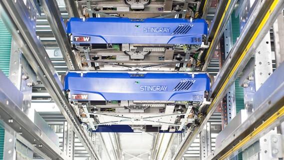 Eine leistungsfähige Intralogistik bei höherer Lagerkapazität und gleichzeitiger Artikel-Aufstockung.