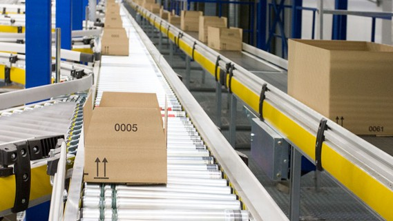 The ability to service varoius sales channels from one distribution centre.