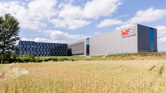 The logistics centre in Waldenburg, Germany serves as a central transfer depot.