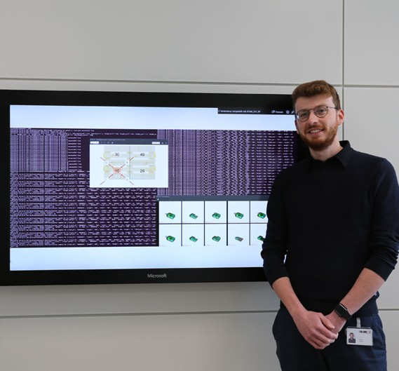 TGW insights: Florian Kagerer continues to develop his algorithm in the Cognitive Systems Team.