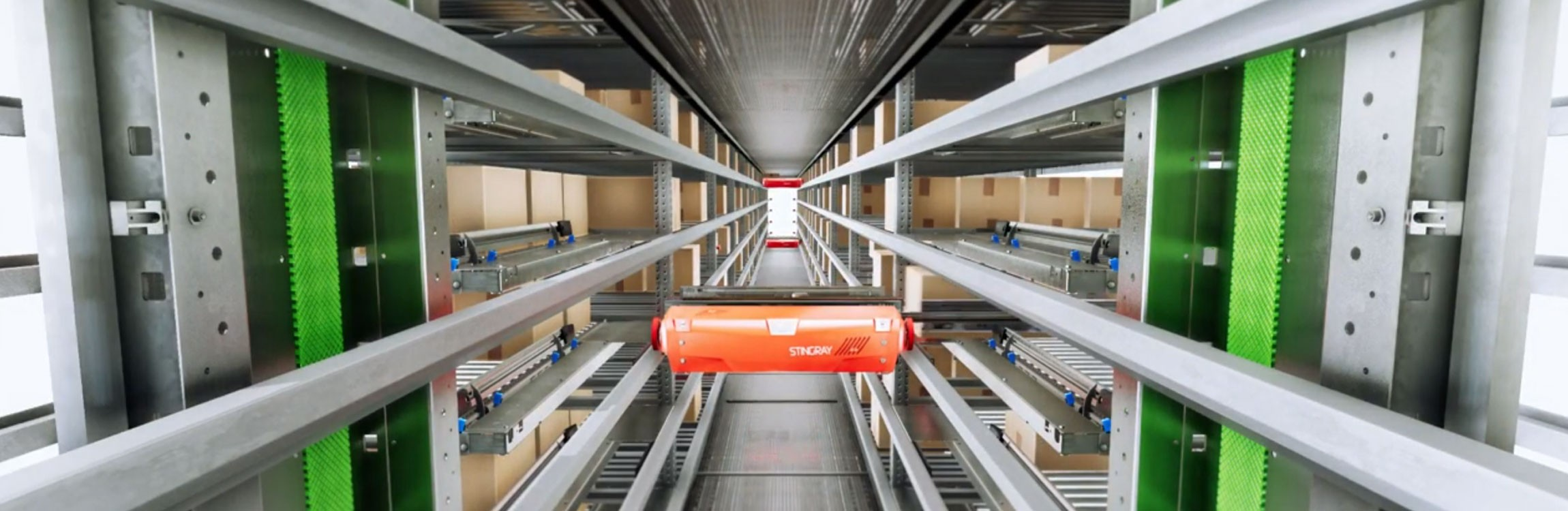 Singray Shuttle: unsere schnell, intelligente und flexible Lösung.