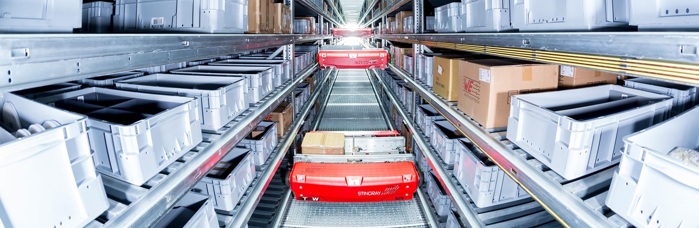 Highly dynamic logistics system.