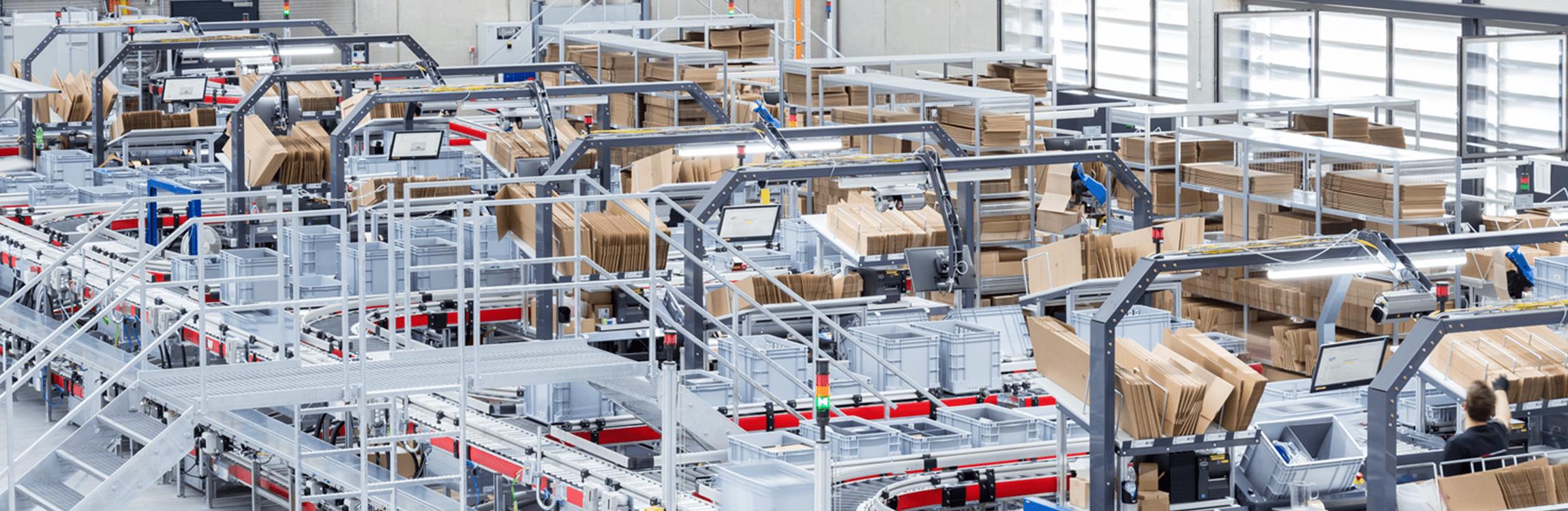 Neues Distributionszentrum für Würth eisos
