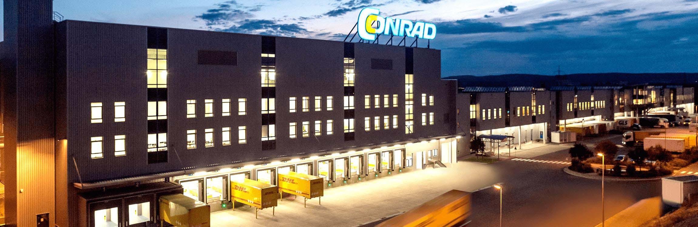 The new distribution centre for Conrad.