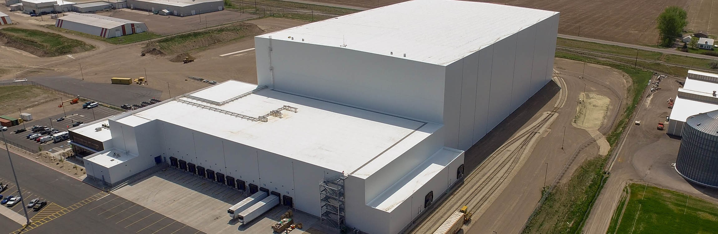 NewCold warehouse for deep-freeze intralogistics.