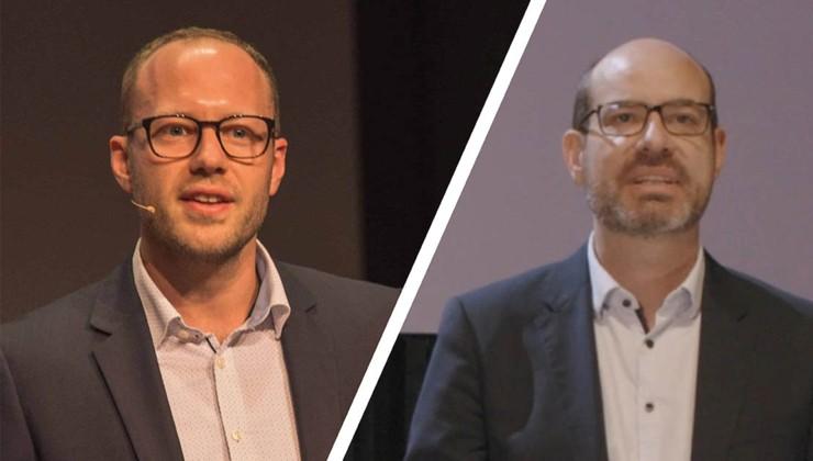 Zwei spannende Fachvorträge aus dem Online Lebensmittelhandel von Dr. Schu und Dr. Schauer.
